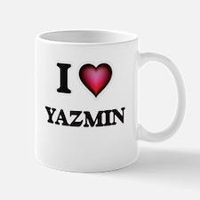 I Love Yazmin Mugs