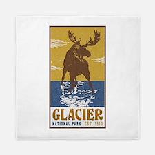 Glacier_National_Park_Moose Queen Duvet