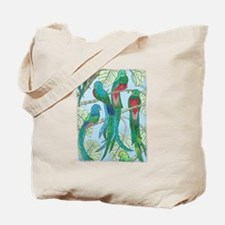 Cool Tropical birds Tote Bag