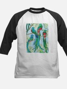 Quetzal Birds Watercolor Baseball Jersey