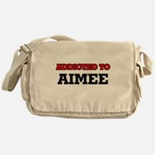 Addicted to Aimee Messenger Bag