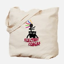 Electric Congas Tote Bag