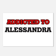 Addicted to Alessandra Postcards (Package of 8)