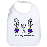 2 moms Cotton Bibs