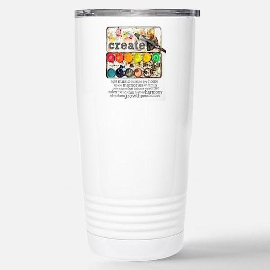Create Stainless Steel Travel Mug