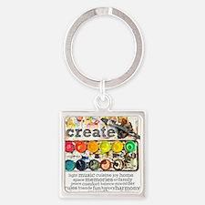 Create Square Keychain