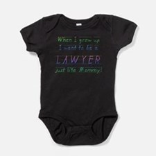 Unique Lawyer daddy Baby Bodysuit