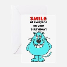 Little Billy Birthday Smile Card Greeting Cards