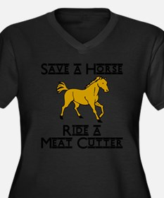 ride meat cutter Plus Size T-Shirt