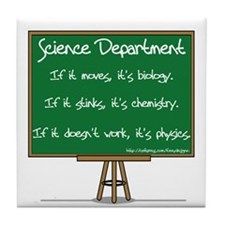 Science Dept Tile Coaster