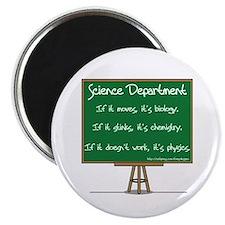 Science Dept Magnet