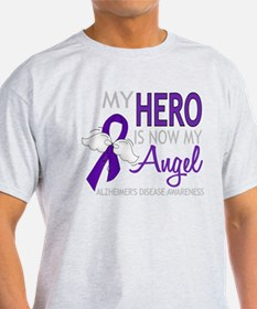 -Alzheimers Hero Now My Angel T-Shirt