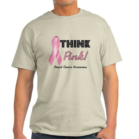 Think Pink Breast Cancer Light T-Shirt