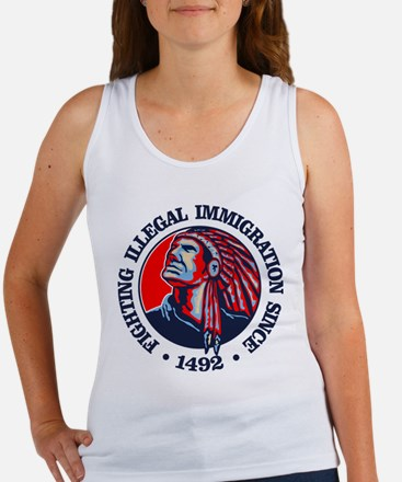 Native American (Illegal Immigration) Tank Top