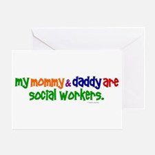 My Mommy & Daddy Are Social Workers (PR) Greeting