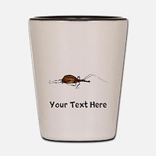 Brown Bug (Custom) Shot Glass