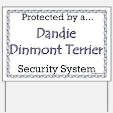 Dandie Security Yard Sign