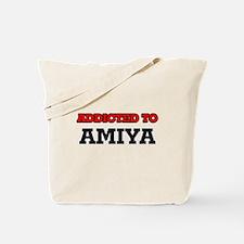 Addicted to Amiya Tote Bag