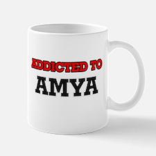 Addicted to Amya Mugs