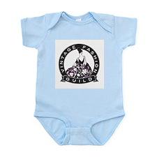 Vintage Fashion Guild Infant Creeper Body Suit