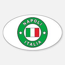 Unique Naples Sticker (Oval)