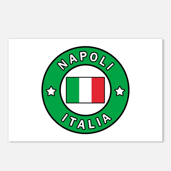 Napoli Italia Postcards (Package of 8)