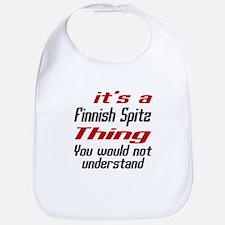 It' s Finnish Spitz Dog Thing Bib