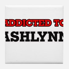 Addicted to Ashlynn Tile Coaster