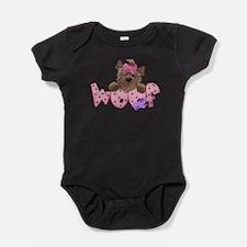 Cool Cute puppy Baby Bodysuit