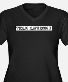 Team Awesome Plus Size T-Shirt