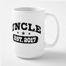 Uncle Est. 2017 Large Mug