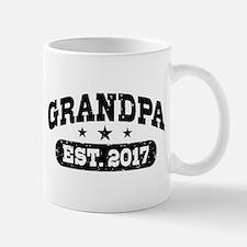 Grandpa Est. 2017 Small Small Mug