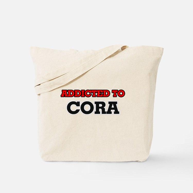 Addicted to Cora Tote Bag