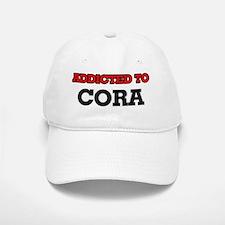 Addicted to Cora Baseball Baseball Cap