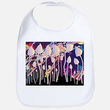 Magic Mushrooms Jazz Background Bib