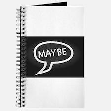 Maybe Speech Bubble Journal