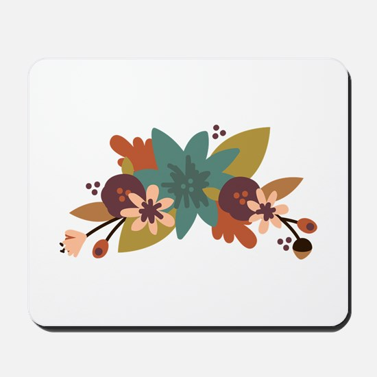 Fall Flowers Mousepad