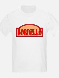 Wooden Bordello Sign T-Shirt