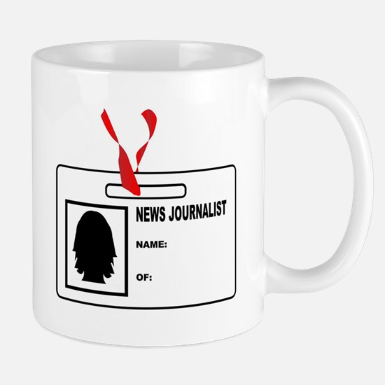 News Journalsit ID Card Mugs