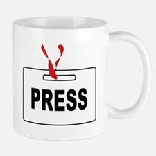 Press ID Card Mugs