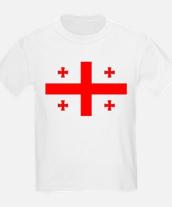 Flag Of The Country Of Georgia T-Shirt