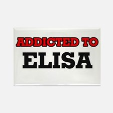 Addicted to Elisa Magnets