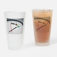 Time for joy Drinking Glass