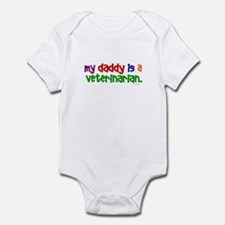 My Daddy Is A Veterinarian Infant Bodysuit