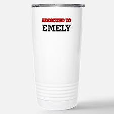 Addicted to Emely Travel Mug