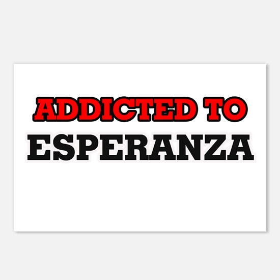 Addicted to Esperanza Postcards (Package of 8)