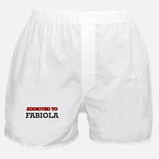 Addicted to Fabiola Boxer Shorts