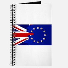 Union Jack and EU Blend Journal