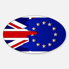 Union Jack and EU Blend Decal