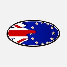 Union Jack and EU Blend Patch